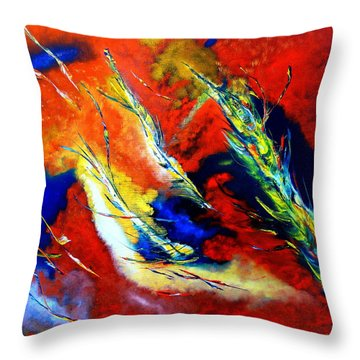 Energy Throw Pillow by David Hatton