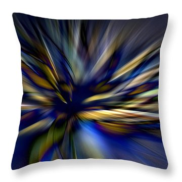 Energy In Flight Throw Pillow