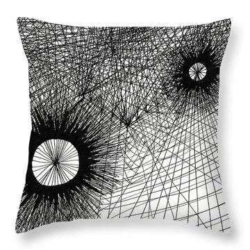 Energy Throw Pillow by Quwatha Valentine