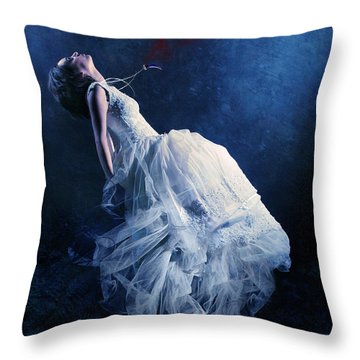 Energy Vampire Throw Pillow