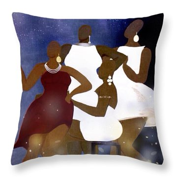 Engagement Party Throw Pillow