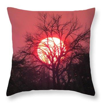 Engepi Sunset Throw Pillow