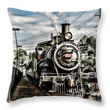Engine 154 Throw Pillow