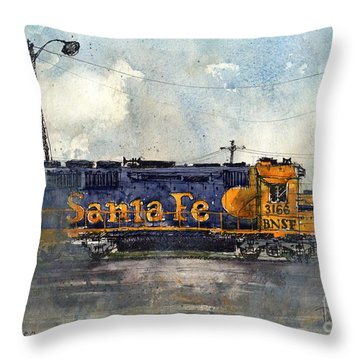Engine 3166 Throw Pillow