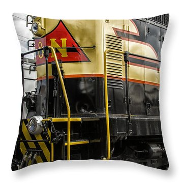 Engine 405 Throw Pillow