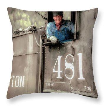 Engineer 481 Throw Pillow