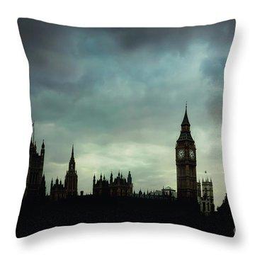 England's Glory Throw Pillow