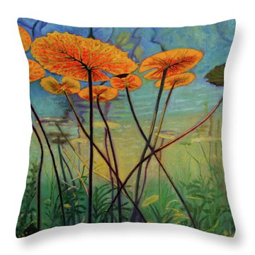Englightenment Throw Pillow