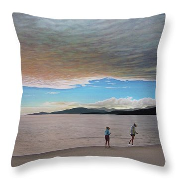 English Bay Vancouver Throw Pillow