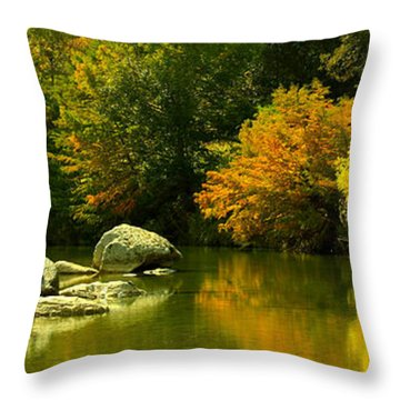 English Crossing Throw Pillow