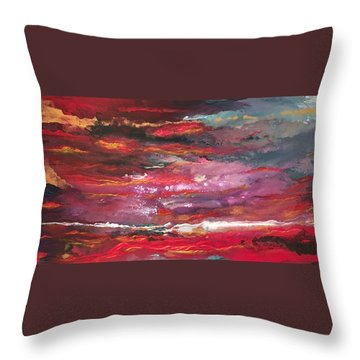 Enigma 2 Throw Pillow