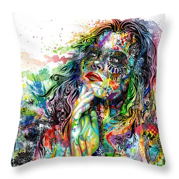 Rainbow Throw Pillows