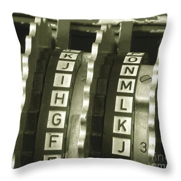 Alan Turing Throw Pillows