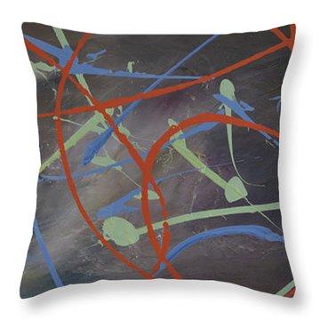 Enigma Throw Pillow by Leana De Villiers