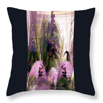 Throw Pillow featuring the photograph Enigma No 2 by Robert G Kernodle