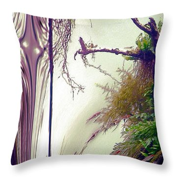Enigma No 3 Throw Pillow