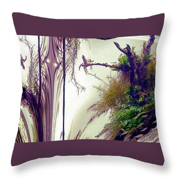 Throw Pillow featuring the photograph Enigma No 3 by Robert G Kernodle