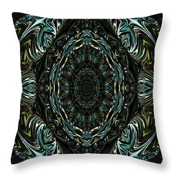 Throw Pillow featuring the photograph Enigma. Special For August by Oksana Semenchenko