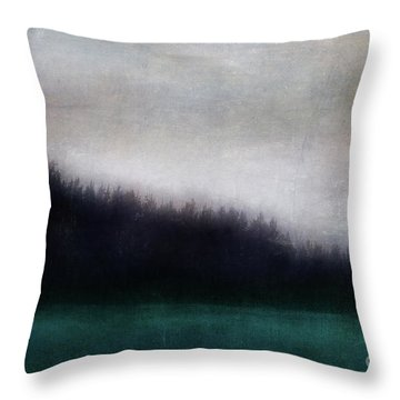 Enigma Throw Pillow by Priska Wettstein