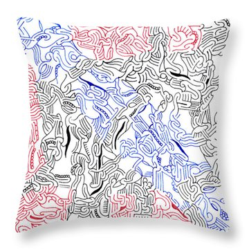 Enigma Throw Pillow by Steven Natanson
