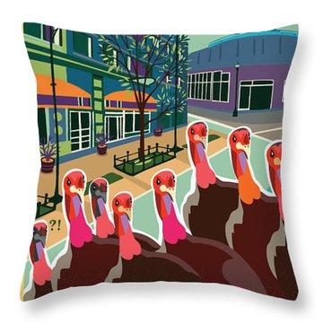 Enjoy Our Shopping Throw Pillow
