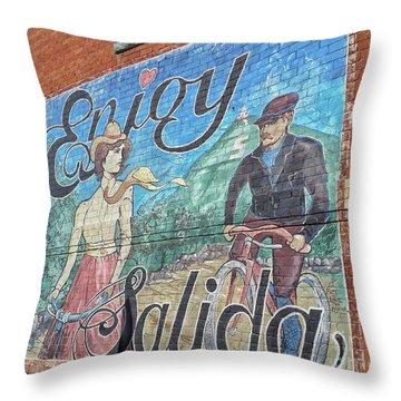 Enjoy Salida Throw Pillow