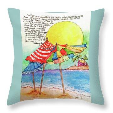 Enjoy That You Be Throw Pillow