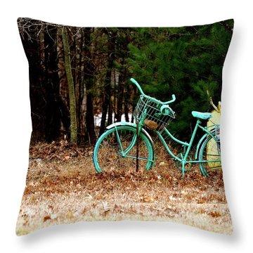 Enjoy The Adventure Throw Pillow