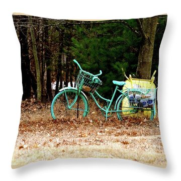 Enjoy The Adventure Throw Pillow