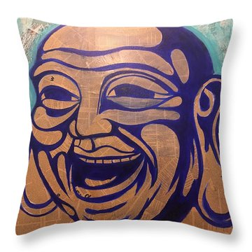 Enjoy The Way Throw Pillow