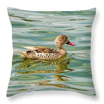 Enjoying Throw Pillow by Pravine Chester