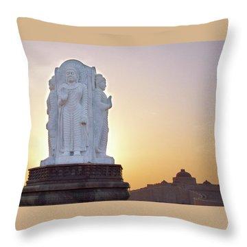 Enlightened Buddha  Throw Pillow