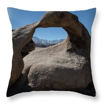 Throw Pillow featuring the photograph Enlightning by Sandra Bronstein