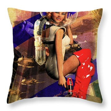 Enlist Today Throw Pillow