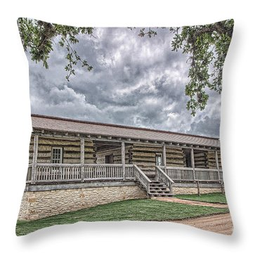 Enlisted Men's Quarters Throw Pillow