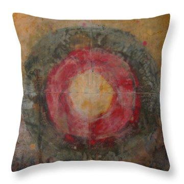 Enshrine - Mindfulness Throw Pillow by Janelle Schneider