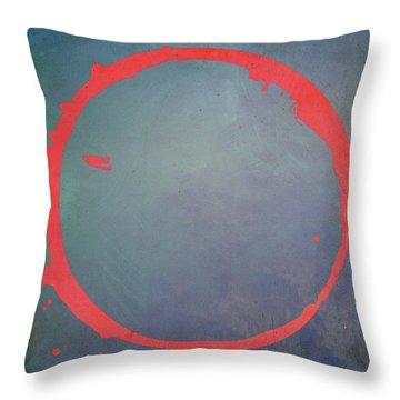 Enso 2017-1 Throw Pillow by Julie Niemela