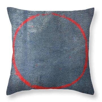 Enso 2017-14 Throw Pillow by Julie Niemela