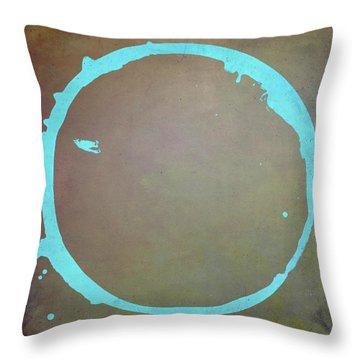 Enso 2017-2 Throw Pillow by Julie Niemela