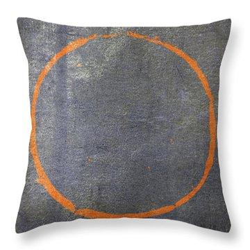Enso 2017-20 Throw Pillow by Julie Niemela