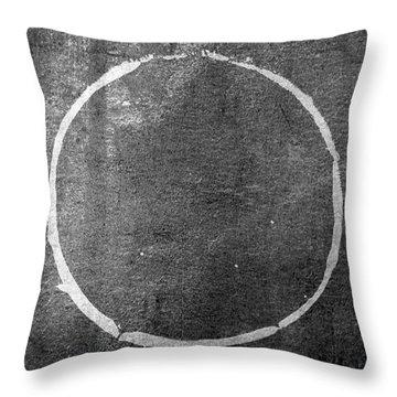 Enso 2017-22 Throw Pillow by Julie Niemela