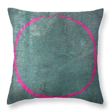 Enso 2017-23 Throw Pillow by Julie Niemela