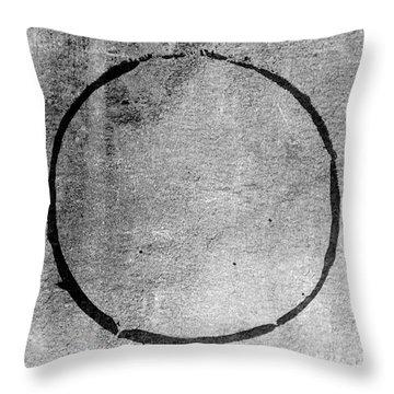 Enso 2017-24 Throw Pillow by Julie Niemela
