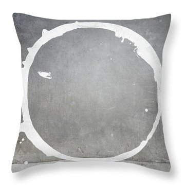 Enso 2017-28 Throw Pillow by Julie Niemela