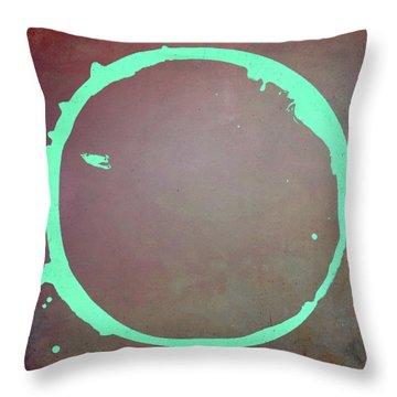 Enso 2017-6 Throw Pillow by Julie Niemela
