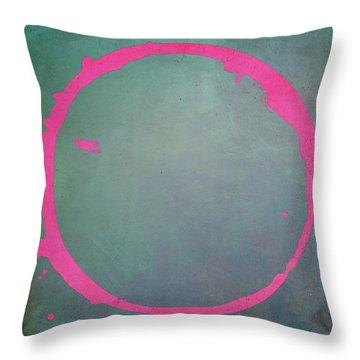 Enso 2017-8 Throw Pillow by Julie Niemela
