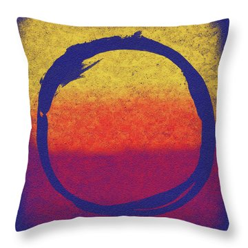 Enso 6 Throw Pillow