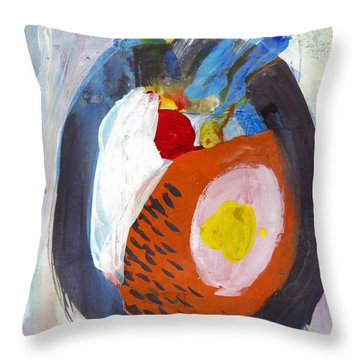 Enso, I Will Always Hold You Within Throw Pillow
