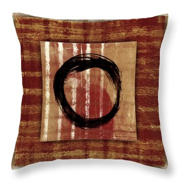 Enso Layers Throw Pillow