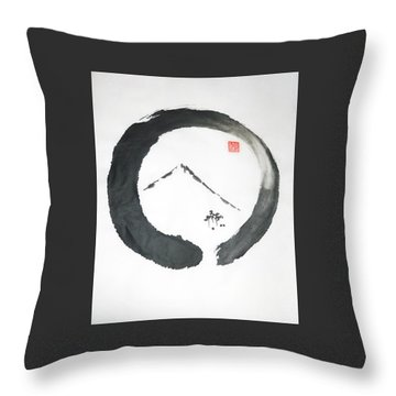 Enso Noble Throw Pillow